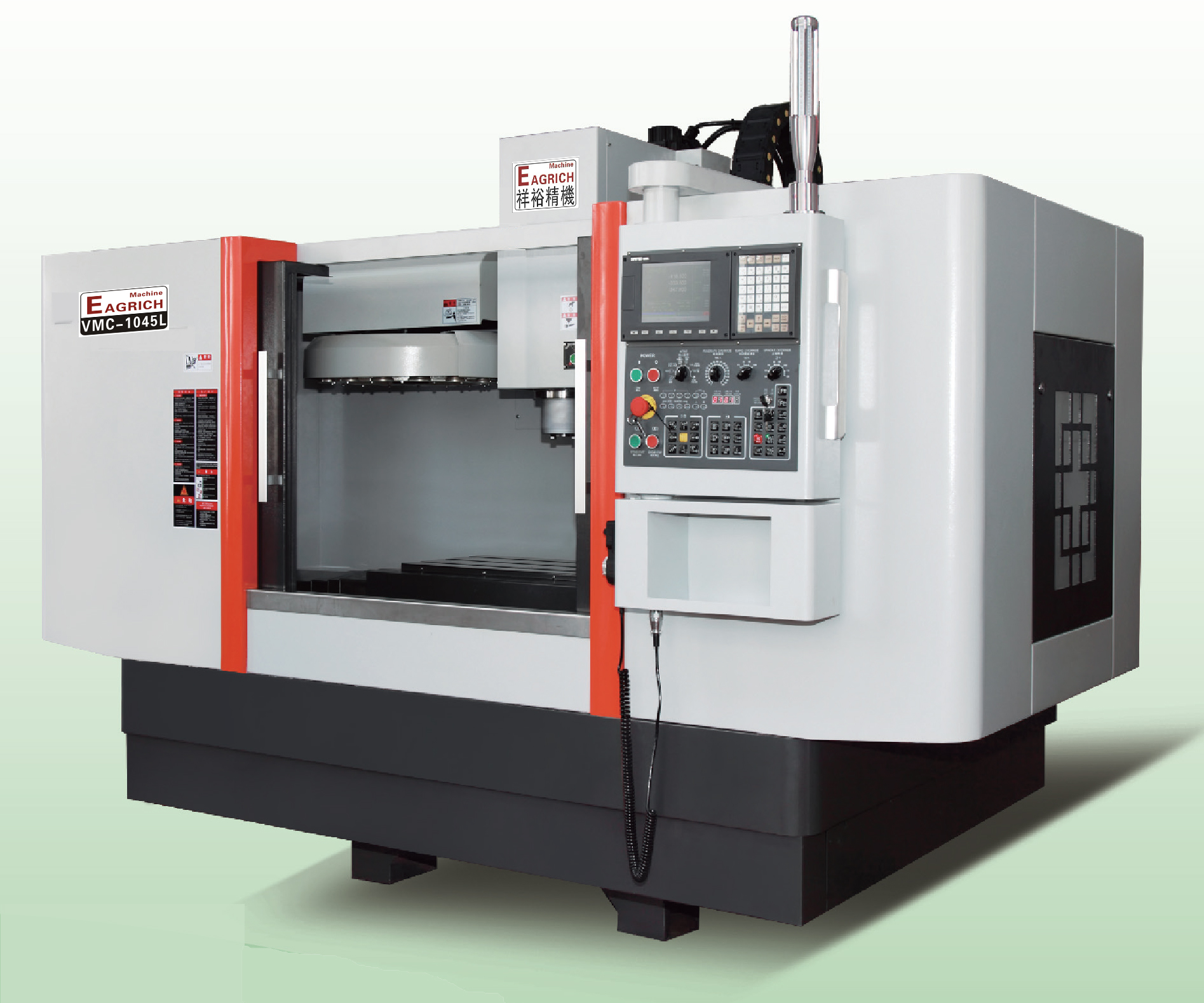VMC-1045L线轨立式加工中心