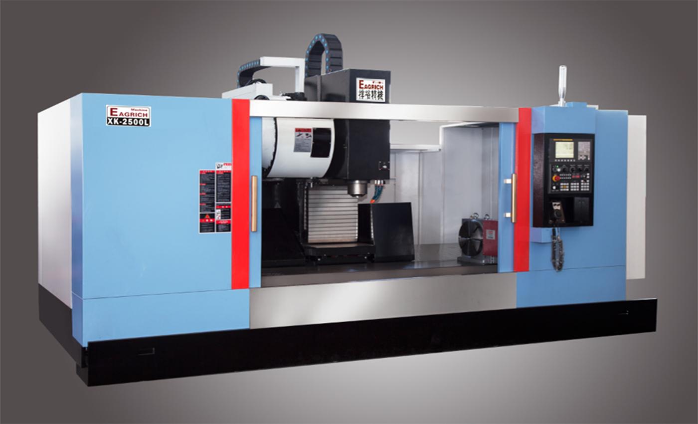 XK-4500L型材加工中心机